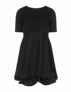 Cotton and linen dress in Black designed by Isolde Roth to find in Category Dresses at navabi.de