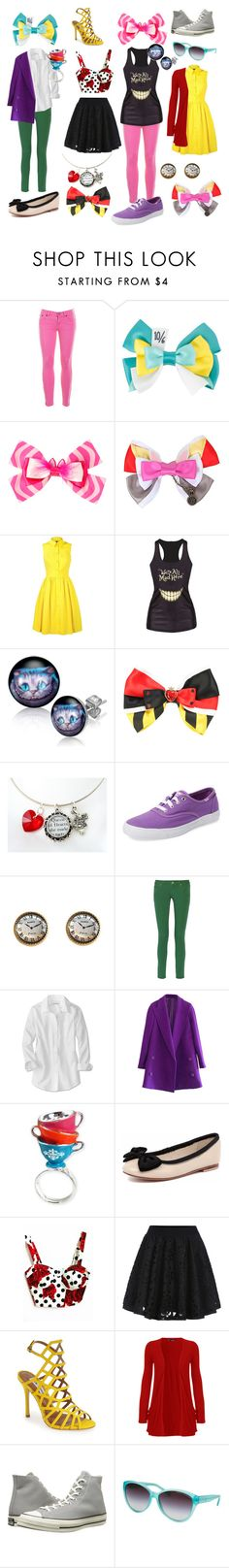 """Disney Squad 3"" by lemonsourpatchkid ❤ liked on Polyvore featuring J.Crew, Disney, Karen Millen, Keds, M Missoni, Disney Couture, Human Premium, WithChic, Steve Madden and WearAll"