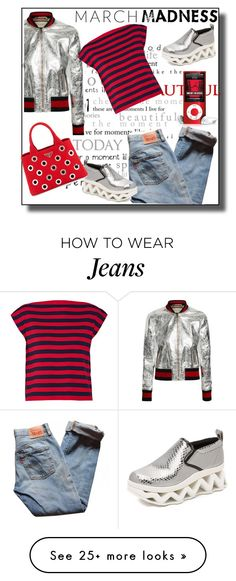 """March madness"" by elarmariodelcamaleon on Polyvore featuring Gucci, Levi's, Marc by Marc Jacobs, Miu Miu and Prada"