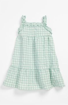 United Colors of Benetton Kids Gingham Dress (Infant) available at #Nordstrom