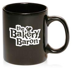 Custom Black Coffee Mugs No Minimum