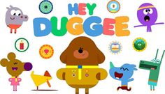 Hey Duggee SVGs Characters and Badges for Cricut Design Space