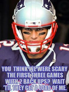 TOM BRADY   SIMPLY STATED!!!!