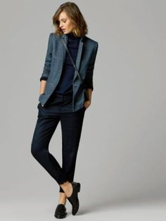 Tomboy femme More Supernatural Style Tomboy Chic, Tomboy Fashion, Fashion Mode, Office Fashion, Work Fashion, Tomboy Style, Womens Fashion, Feminine Tomboy, Queer Fashion