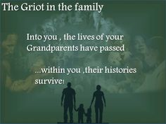 To the family, to the historian,  and to the family historian