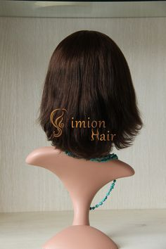 """14""""4# brown color Style 1 small layer short stock and customized Mongolian hair Jewish Kosher women sheitals! Professional and best price&service! WhatsApp:+008615853264503 E-mail: info@simionhairlash.com http://www.aliexpress.com/store/group/Professional-Jewish-Kosher-Wigs/1379926_260588470.html"""