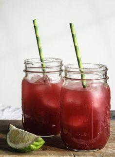#Cocktail / Blood Orange Margaritas - Dishing Up the Dirt