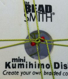 Check out Tip #14. How to add beads to your Kumihimo braid.