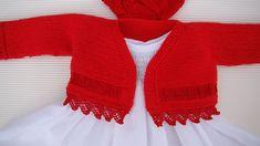 New crochet patterns free sweater boleros english ideas Crochet Baby Cardigan Free Pattern, Crochet Cardigan, Knitting Patterns Free, Baby Knitting, Crochet Patterns, Crochet Shawl, Crochet Ideas, Crochet For Kids, Irish Crochet