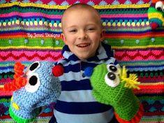 Free Crochet Pattern: Little C's Silly Hand Puppets