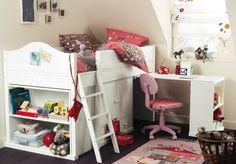 Inspiração para decorar quartos de criança - Feminino - Pequeno