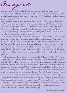 Imagine One Direction - Zayn <3  <3Juli<3