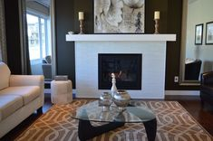 Home Improvement And Decor. Useful suggestions when thinking about home improvment. home improvement tips UK. Living Room Decor Fireplace, Modern Fireplace, Fireplace Ideas, Fireplace Doors, Fireplace Set, White Fireplace, Fireplace Design, Room Additions, Living Room Remodel