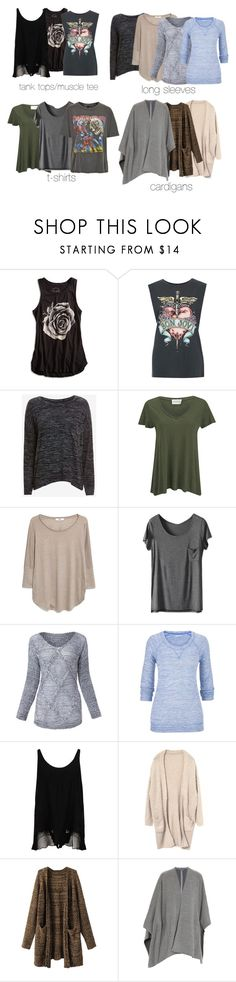 """Hayley Marshall Inspired Basics"" by nathj ❤ liked on Polyvore featuring Lucky Brand, rag & bone/JEAN, American Vintage, MANGO, maurices, STELLA McCARTNEY, Vince, And Finally, to and hayleymarshall"