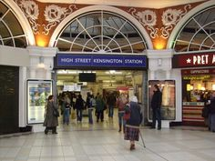 High Street Kensington tube station - Wikipedia, the free encyclopedia