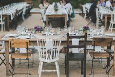 eclectic wedding receptions - photo by Studio Castillero http://ruffledblog.com/tropical-glam-wedding-in-palm-springs