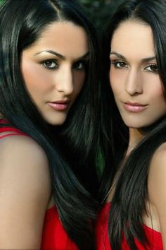 Bella Twins - Natural strength and beauty. Great inspirational women.