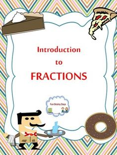 Fraction This unit will help you introduce fraction in your class. This set includes posters, worksheets and interactive materials . $4.50