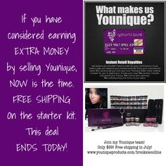 "I would love to have new friends to work with!! Click ""Join"" on my website: www.youniqueproducts.com/UnbelievableLashes"