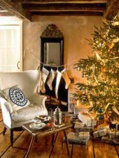 I like the idea of slouched hanging stockings :)