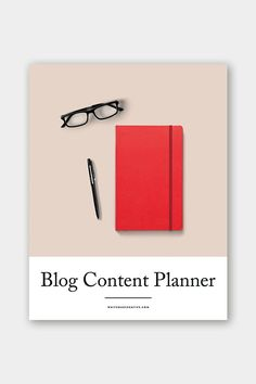 Blog Content Planner workbook for creative entrepreneurs and bloggers - and overall guide to planning your blog content + editorial calendar template - free download