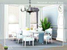 Angela's Gustavian Dining