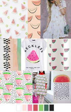SORBETE SANDÍA 2016 Fashion Trends, 2016 Trends, Color Trends, Design Trends, Watermelon Sorbet, Spring Summer Trends, Summer 2016, Summer Patterns, Color Inspiration