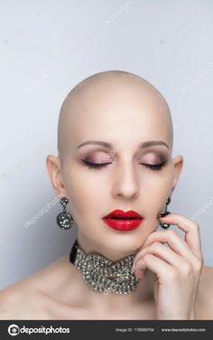 Bald Heads - Hairl Loss Tips Bald Look, Shaved Hair Women, Bald Women, Sexy Women, Going Bald, Hair Tattoos, Hair Dye Colors, About Hair, Makeup