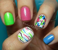 Neverland Nail Blog: Summer Fun Challenge - Fun in the Sun!