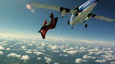 Red Wingsuit Exit | Flickr – Compartilhamento de fotos!