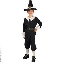 Pilgrim Boy Child Costume  $15.02