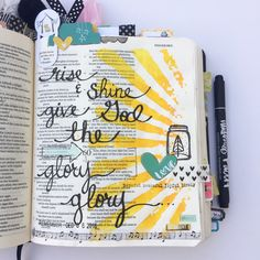December Daily & Bible Journaling... — A Kiss on the Chic