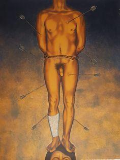 "Nahum B. Zenil, ""A San Sebastian"" (n.d.) (image courtesy of the artist and Galería de la Raza)"
