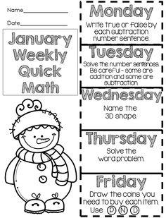 Math Writing, First Grade Writing, Third Grade Math, Kindergarten Writing, Teaching Writing, Writing Worksheets, Teaching Tools, Grade 1, Writing Prompts
