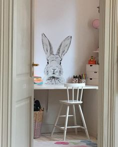 Magnetic Wallpaper from @groovy_magnets looking great in Clara's room   DKK 699. Thank you for the picture @christellashermer. Shop link in bio.  #studiominishop #groovymagnets #magneticwallpaper #magnetisktapet #børneværelse #børneinteriør