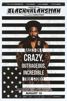 Watch BlacKkKlansman full hd online Directed by Spike Lee. With John David Washington, Adam Driver, Laura Harrier, Topher Grace. Ron Stallworth, an African-American police officer from Colora 2018 Movies, Top Movies, Movies To Watch, Movies Online, Netflix Movies, Alec Baldwin, Streaming Hd, Streaming Movies, Movies And Series