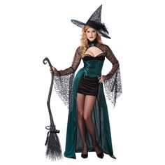 Halloween costume - sexy witch