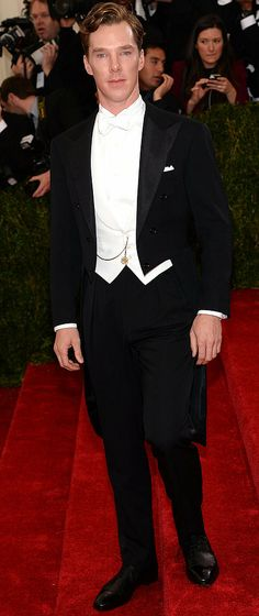 Find out why Benedict Cumberbatch won the #MetGala