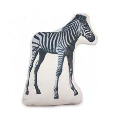 Another great find on Zebra Fauna Cushion by Areaware Design Shop, Design Studio, Deco Kids, Baby Zebra, Owl Pillow, Pillow Talk, Shops, Bird Statues, Black Pillows