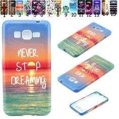 New Silicone Soft Back Rubber Gel Case Cover For Samsung Galaxy Grand Prime G530