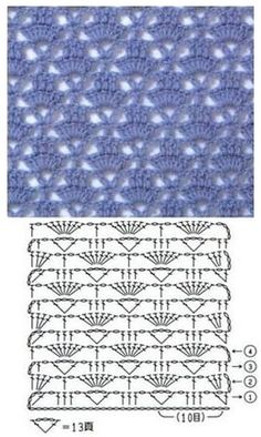 Crochet Edging Patterns Shawl Beautiful Best I - Tricot Pontos Hexagon Crochet Pattern, Crochet Lace Edging, Crochet Motifs, Crochet Diagram, Crochet Stitches Patterns, Crochet Chart, Filet Crochet, Knitting Patterns, Lace Knitting
