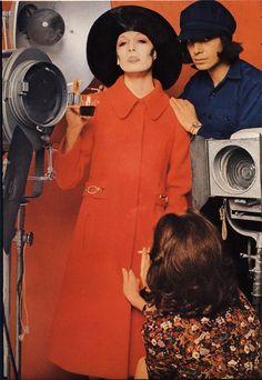 Vogue Paris September 1971, Angelica Huston by  Bob Richardson