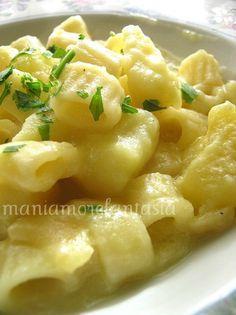 Pasta con le patate, semplice e veloce!