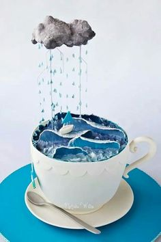 Storm in a teacup by
