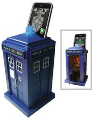 Doctor Who Tardis Safe, Secured Using A Smartphone... Maybe, just maybe?