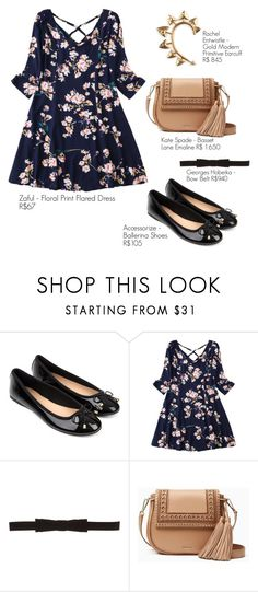 """""""Romantic"""" by sarakill on Polyvore featuring Accessorize, Georges Hobeika, Kate Spade and Rachel Entwistle"""