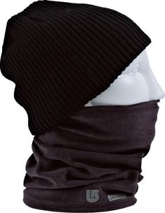 BURTON FIRSTLAYER EXPEDITION NECK WARMER TRUE BLACK