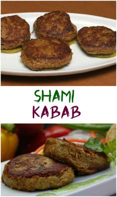 Shami kabab recipe is a great dish that can be served as an appetizer, snack or as a side dish with biryani. It is so simple and easy to make yet so tasty. Kabob Recipes, Beef Recipes, Chicken Recipes, Cooking Recipes, Curry Recipes, Recipies, Vegan Recipes, Shami Kebabs, Amigurumi