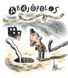 Liniers: Cosas que te pasan si estás vivo: Abajópolis-
