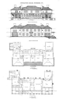 the architecture of charles platt - Google Search Classic Architecture, Architecture Plan, Big Modern Houses, Apartment Floor Plans, Luxury House Plans, English House, Architectural Design House Plans, Building Plans, Future House